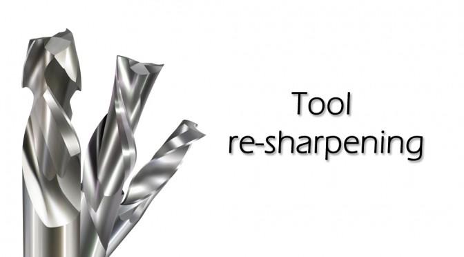 tool re shapening